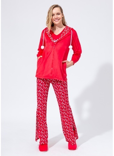 Dagi Sweatshirt Kırmızı